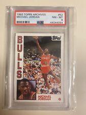 PSA 8 1992/93 Topps Archives  Michael Jordan UNDERGRADED