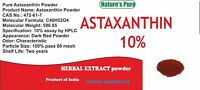 ASTAXANTHIN 10% , Haematococcus Pluvialis Extract Powder, Powerful Antioxidant