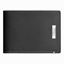 S.T. Dupont Defi 6 Credit Card Wallet, Perforated Leather, 170401, New In Box