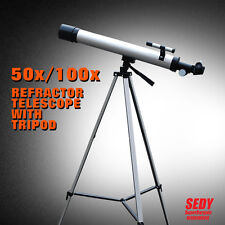 Astronomical Telescope 50mm Aperture 100x Zoom Star Moon High Quality Precision