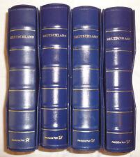 DEUTSCHLAND Plus - VORDRUCKE 2001-2007 in 4 RINGBINDERN mit SCHUBER (11521N)