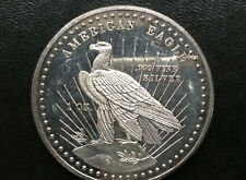 1981 World Wide Mint American Eagle Silver Medal A2665
