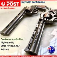 Colt Python 357 Keyring Colt Trooper Anaconda Gun Model Collectors Gun Keyring