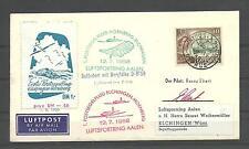 Chipre a Alemania. Sobre circulado con sello de Chipre y matasellos especiales
