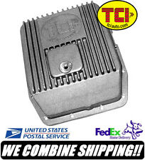 TCI Ford AOD AODE 4R70W Cast Aluminum Transmission Pan 2 Extra Quarts #438000