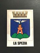 FIGURINA ITALIA PATRIA NOSTRA PANINI 1969 STEMMA LA SPEZIA n.5 b OTTIMA RECUPERO