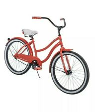 "Huffy 24"" Cranbrook Girls Cruiser Red Bike (NEW IN BOX)"