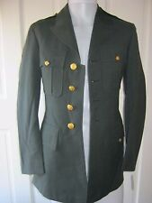 Authentic US Military Army Uniform Long Dress Over Top Coat Mens 34L Cosplay