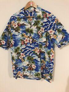 Hawaiian Aloha Shirt Made In Hawaii XL