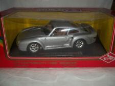 Voitures, camions et fourgons miniatures argentés Porsche
