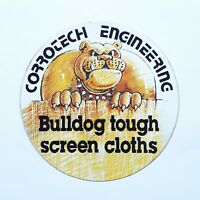 1980s Corrotech Engineering Sticker VINTAGE NOS