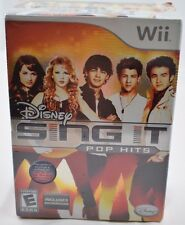 Disney Sing It: Pop Hits Bundle Nintendo Wii Box Bundle With Microphone New