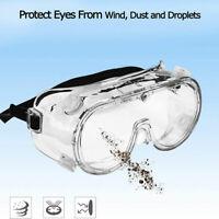 1x Lunettes de Protection des yeux Lunettes de sécurité Travail Antipoussière