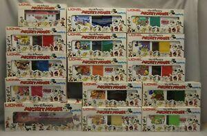 Lionel Disney 1977, 1978 Mickey Mouse Express 15-Piece O/O27-Gauge Train Set C-9