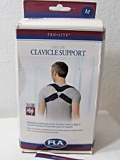 FLA ORTHOPEDICS DELUXE CLAVICLE SUPPORT~LATEX FREE~SIZE M~STORE RETURN