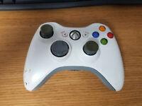 Microsoft Xbox 360 White Wireless Controller Genuine Original OEM