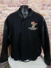 Vintage Milwaukee Bucks NBA Basketball Leather Varsity Letterman Jacket Mens XXL
