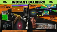 Call of Duty Warzone / ColdWar / Mobile 25 Item Bundle DLC *INSTANT DELIVERY*