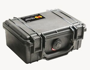 Pelican 1120 Case with Foam for Camera (Black), Frustration-Free Packaging