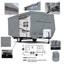 Deluxe Trailer Traveler Camper RV Motorhome Storage Cover Fits 27' -28'L