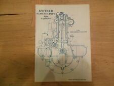 Encyclopedie Pratique de Mecanique et d'Electricite,1924, vol I, Moteur, Cyano-
