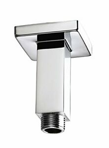 Bristan ARM CFSQ01 C 75 mm Square Ceiling Fed Shower Arm - Chrome Plated