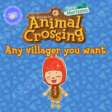 Any animal villager you want! Raymond, Judy, Marshal, Audie, Dom, whoever!!