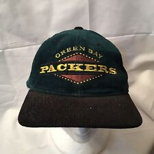 Vintage Green Bay Packers Hat Cap Corduroy Starter Adjustable adddd42d0