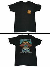 New listing Boothill Saloon Biker Bar Motorcycle Single Stitch Black T Shirt Mens M Usa