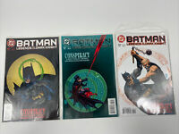 Batman Legends of the Dark Knight #86, 87 and 88 Conspiracy complete story