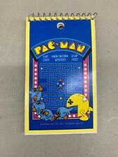 Vintage Pac-Man Notepad Notebook 1980 Midway MFG Memo Pad Video Game