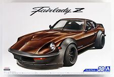 Aoshima 53058 The Model Car 30 NISSAN S30 Fairlady Z Aero Custom '75 1/24 scale