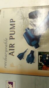 Greatland Outdoors 120 Volt Air Pump with adapters cordless rechargeable