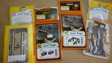 5XKestrel Designs (Gaugemaster) Plastic Construction Kits, New