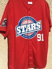LAS VEGAS STARS MINOR LEAGUE BASEBALL 51's JERSEY XL Area Mets Padres 91