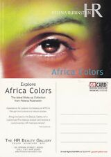 HELENA RUBINSTEIN AFRICA COLORS ADVERTISING UNUSED COLOUR POSTCARD (a)