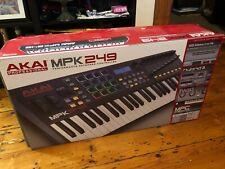 AKAI MPK249 midi keyboard controller with MPC drum pads