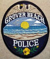 CA Grover Beach California Police Patch