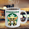 Starbucks Baby Yoda Star Wars Cute Yoda STARBUCKS Fan Coffee Mug Gift