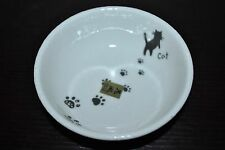"NEW KAFUH Soup/Noodle BOWL Cat Kitty PAW JAPAN 5.1"" Handcrafted"