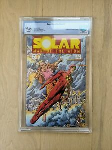 Solar, Man of the Atom #3 9.6 1st Toyo Harada & Thumper CBCS CGC Valiant 1991