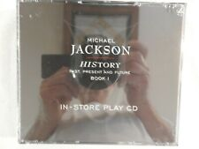 """MICHAEL JACKSON """"HIStory"""" BRAND NEW PROMO ONLY 2 CD IN-STORE PLAY SET! RARE!"""