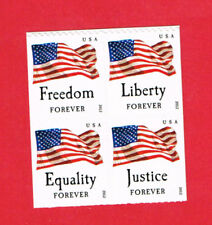 4673-4676 Four Flags  2012 MNH SA     Block of 4 From Book of 10  Forever