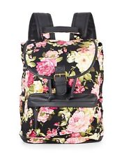 b4991758b4f06 Madden Girl Authentic Adorable Bbenji Backpack Black Floral Brand New With  Tags