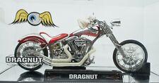 Jada Toys Von Dutch Dragnut Custom Motorcycle 1:18