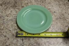 "FIRE KING OVEN WARE, 6&3/4"" PIE OR SALAD  DISH, NICE CONDITION, JADE-ITE COLOR"