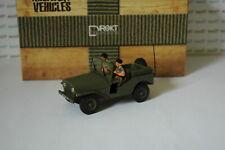 Militaires Français Jeep DELAHAYE VLRD avec soldats 1/43ème DIREKT IXO