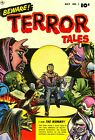 Beware Terror Tales 01 Comic Book Cover Art Giclee Reproduction on Canvas