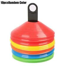 10X Traffic Field Football Training Marker Cones Soccer Stable Discs Sports X7E2