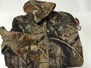 Mizzou Tigers Realtree Camo Full Zip Hooded Sweatshirt--Large